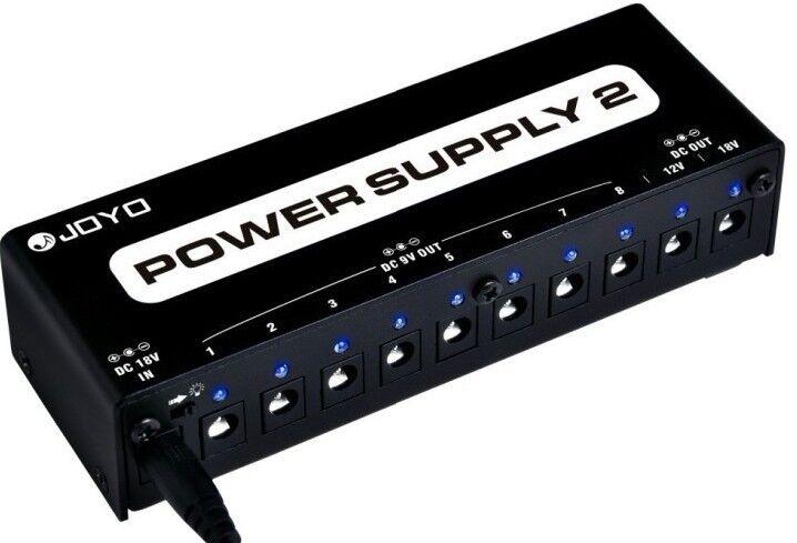 Joyo JP-02 Multi Power Supply, 8x9V + 1x12V + 1x 18V jeweils DC  Ausverkauf
