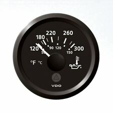VDO ViewLine öltemperaturanzeige visualización de temperatura 52mm 50-150c 120-300f trike
