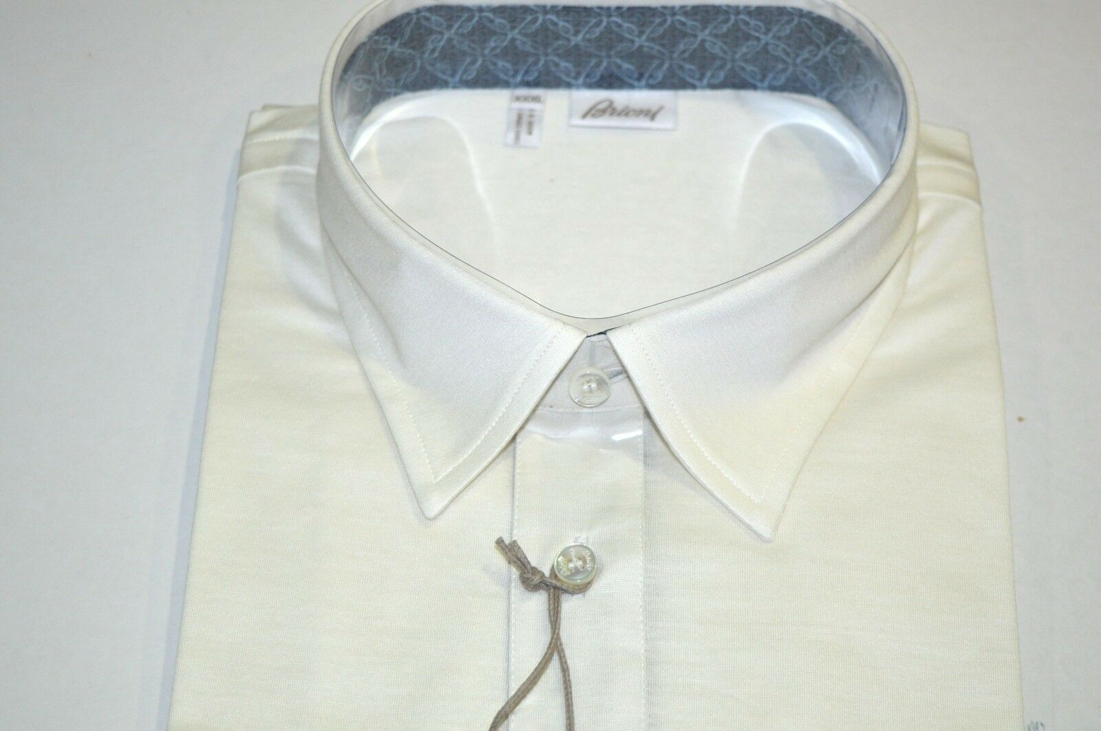 NEW  BRIONI Polo  Short Sleeve baumwolle Größe 3XL Us Eu 58 (SGG10)