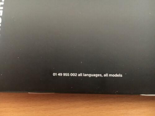 MINI ONE SERVICE BOOK UNUSED NOT DUPLICATE ALL MODEL MULTI LANGUAGE GENUINE