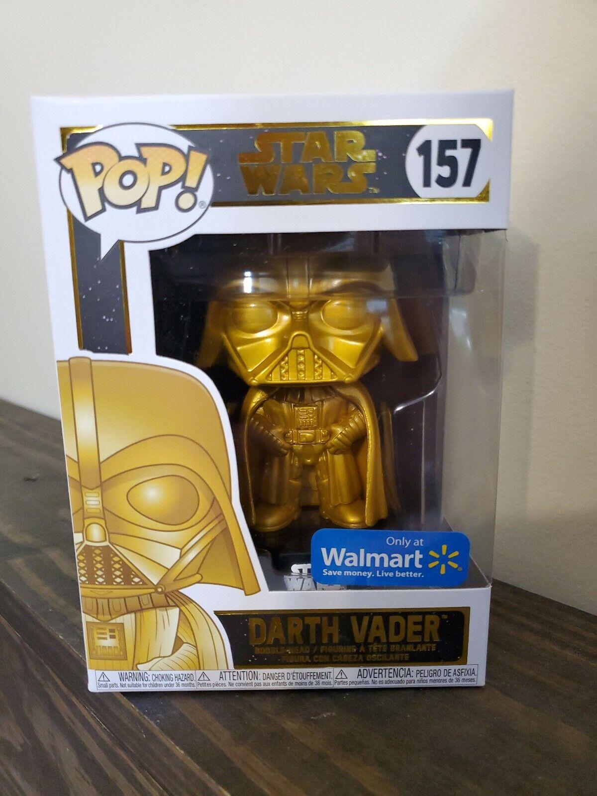 """estrella guerras 3.75"""" cieloWALKER VADER STORMTROOPER Walmart Exclusive oro Vader divertiessitoko"""
