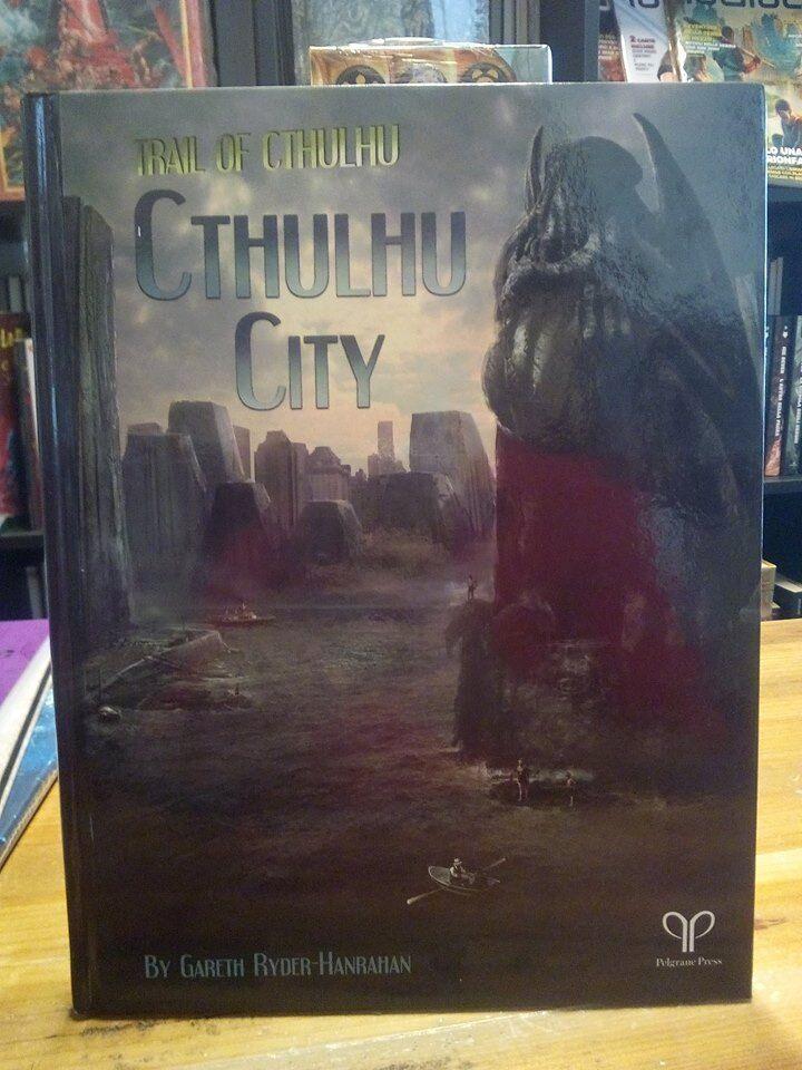 in vendita Trail of Cthulhu Cthulhu città Sourcelibro Pelgrane Pelgrane Pelgrane Press  autentico online