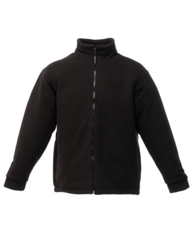 Regatta Asgard II Black Quilted Fleece Jacket-TRF530