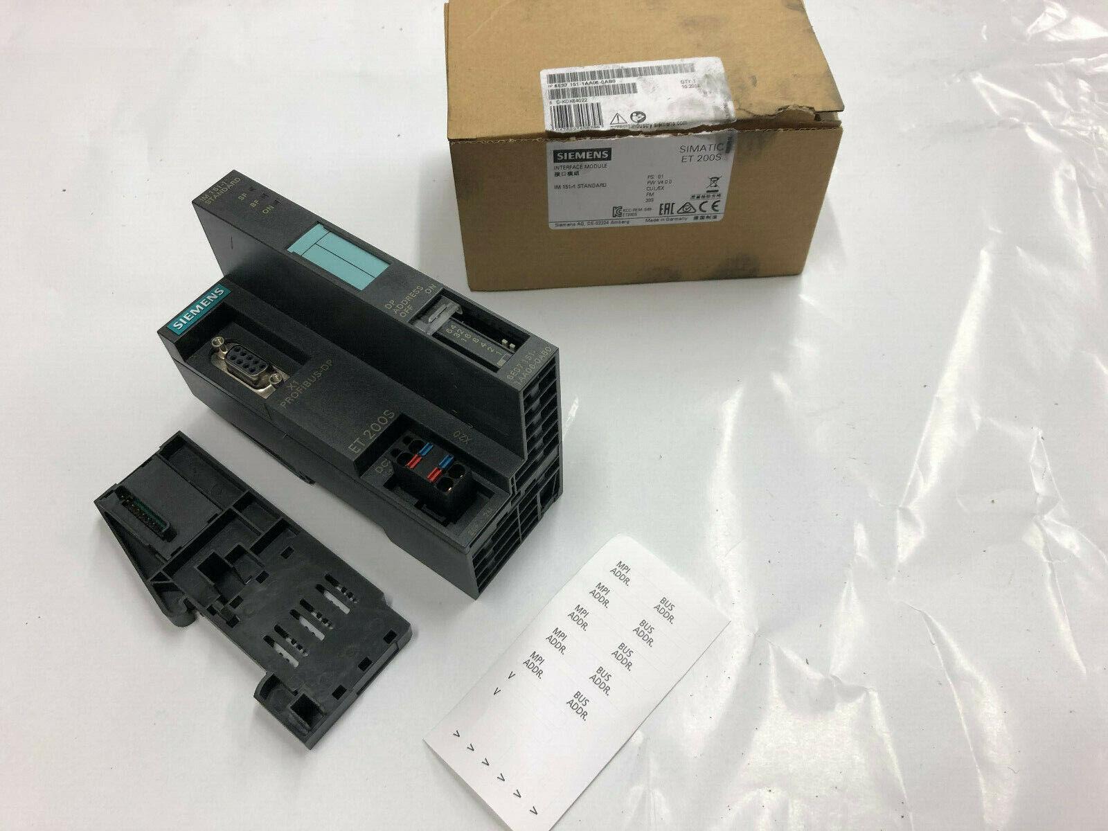 Siemens Simatic S7  ET 200S 6ES7 151-1CA00-0AB0 IM151-1  TOP !