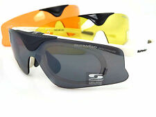 SUNWISE Austin White Changeable 3 Lens + Optical Clip Flip Up Front Sunglasses