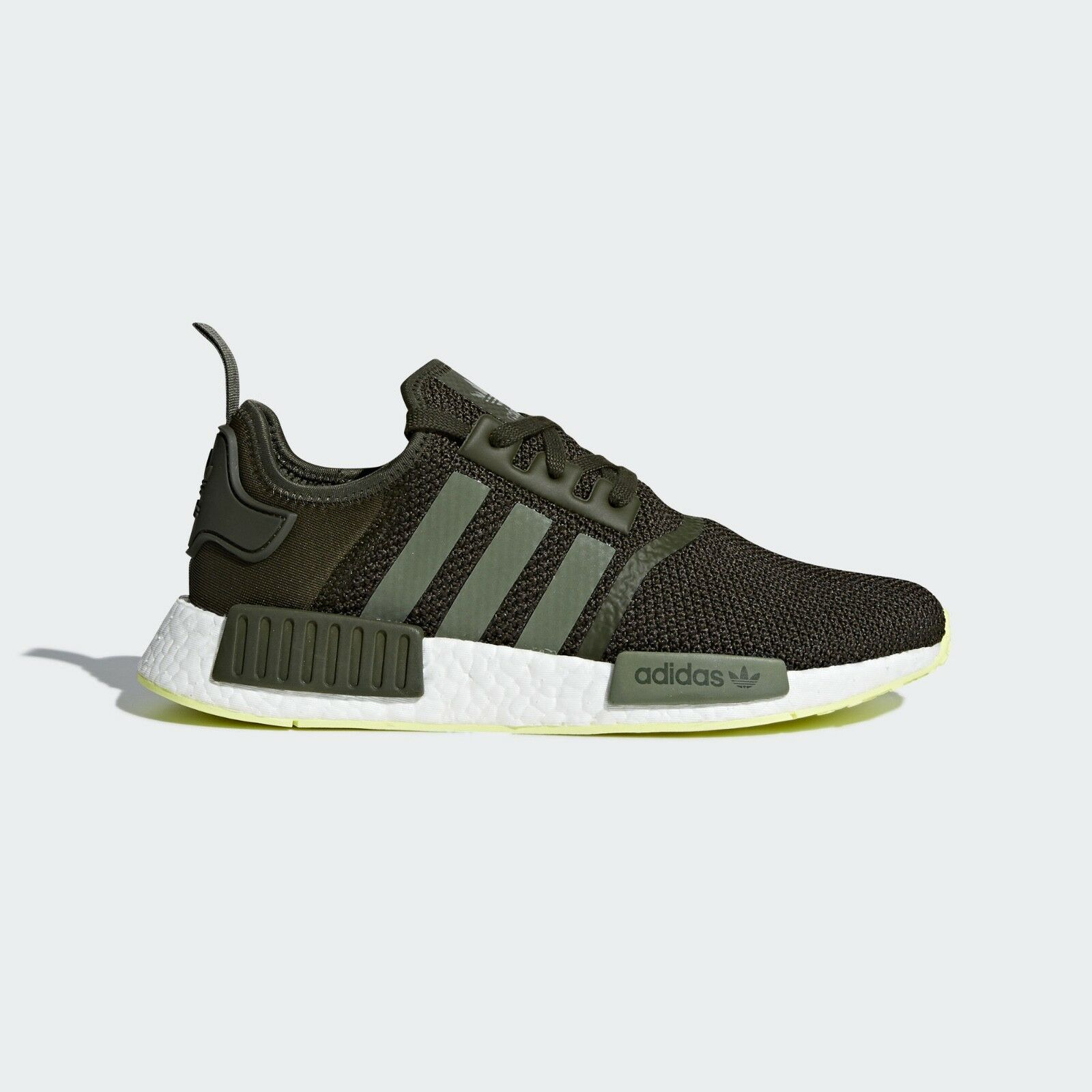 NEW adidas NMD_R1 shoes Men's  color  Night Cargo   Base Green size 14
