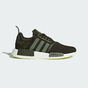 8ebc47072664b NEW adidas NMD R1 Shoes Men s Color  Night Cargo   Base Green size ...