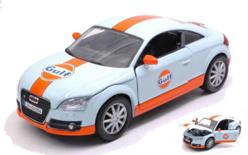 Audi Tt 2015 Gulf Series 1:24 Model MOTORMAX