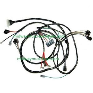 front end headlight headlamp wiring harness 65 Chevy II Nova 283 327 1965  396 | eBay | 1965 Chevy Headlight Wiring |  | eBay