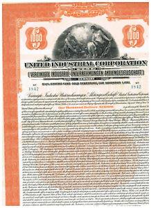 VIAG-Vereinigte-Industrie-Unternehmungen-AG-1926-Gold-Anleihe-1000-ungelocht