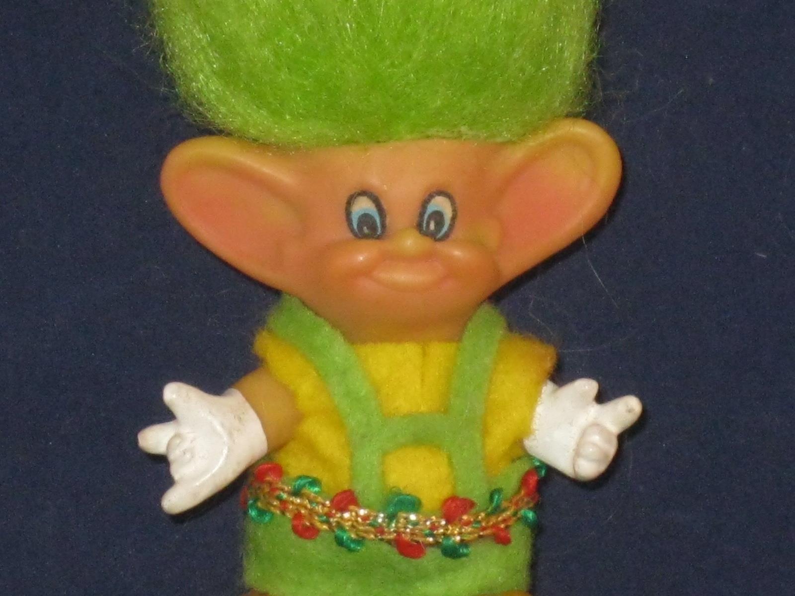 1973 2 1 2  muy difícil de encontrar vintage hobbit troll hecha por la realeza Diseño de Florida W485