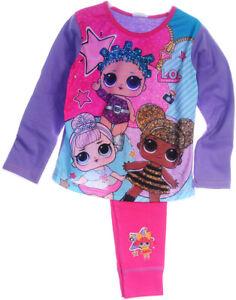 AnpassungsfäHig Pyjama L.o.l. Surprise Kinder Schlafanzug Hose Shirt 110 116 122 128 134 140 Lol
