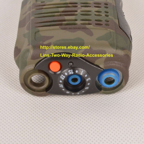 Camouflage Replacement Repair Case Housing For Motorola GP328 Portable Radio