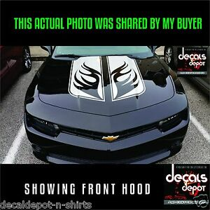 2015 - 2021 FITS Chevy Camaro Hood Fender Trunk Rally Racing Stripes Decals