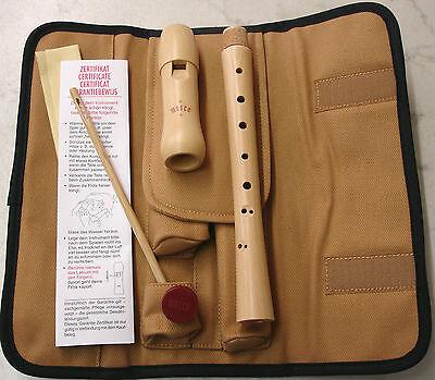 Blasinstrumente Musikinstrumente Moeck-blockflÖte 1210 Ahorn Natur Barocke Griffweise >>> T O P <<< Exquisite Traditionelle Stickkunst