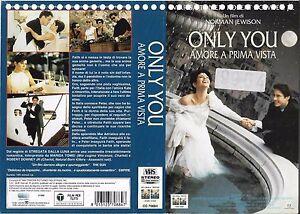 ONLY YOU - AMORE A PRIMA VISTA (1994) vhs ex noleggio - Italia - ONLY YOU - AMORE A PRIMA VISTA (1994) vhs ex noleggio - Italia