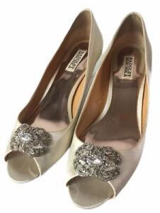 Badgley Mischka Shoe Bridal Formal Open