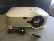 nec np3151w lcd projector ebay rh ebay com NEC Projectors Offical Web Site Old NEC Projectors Cables
