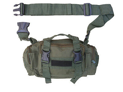 Mens Army Combat Military Surplus Travel Shoulder Waist Day Pack Belt Bum Bag
