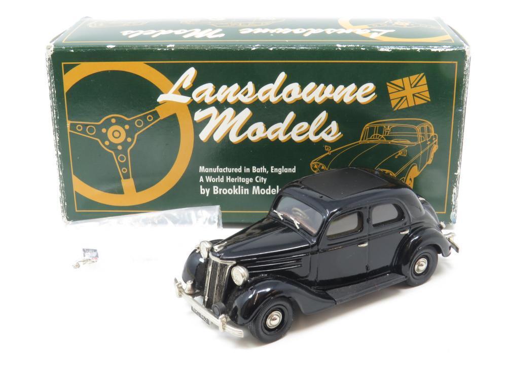 Lansdowne modelos bajo 30A 1948 Ford V8 piloto policía nero 1 43 ESCALA en Caja