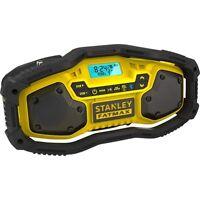 Stanley Fat Max, Bluetooth Radio, Bare Unit, 18v Lithium
