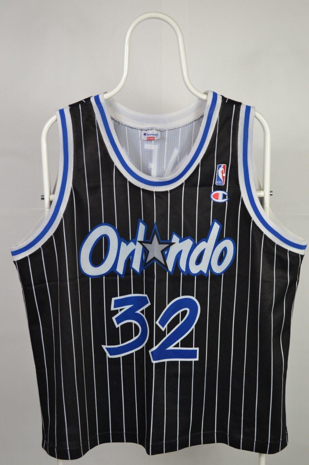 Champion Orlando Magic Shaq O'Neal authentic NBA jersey Made USA