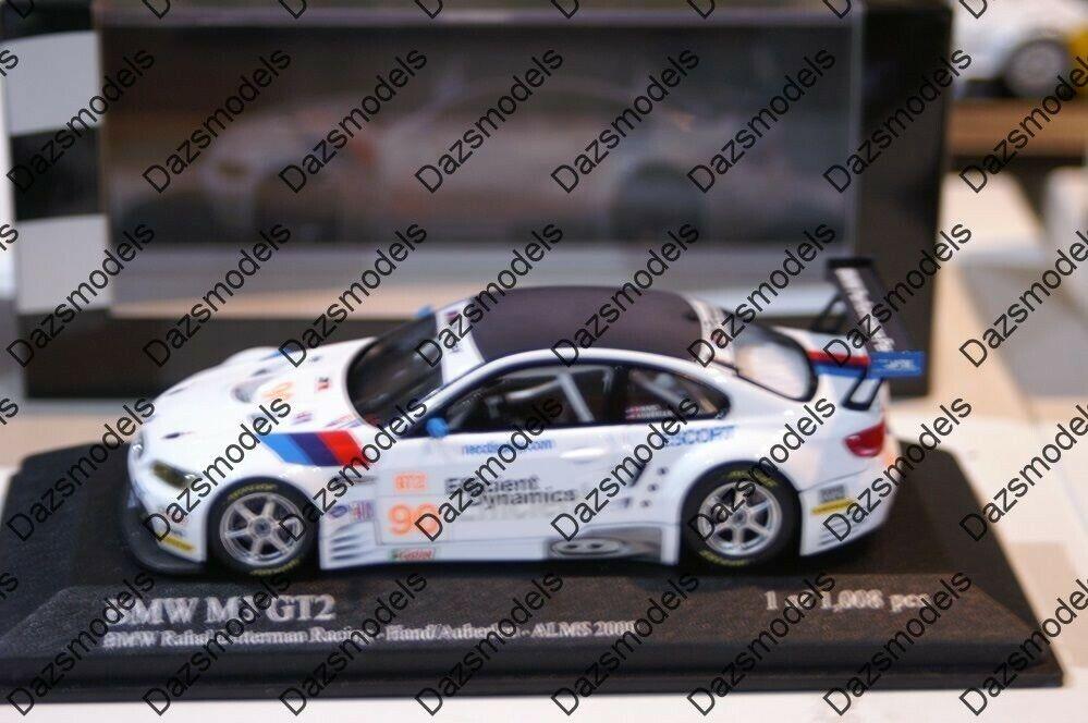 Minichamps BMW M3 GT2 ALMS 2009 Hand 092990