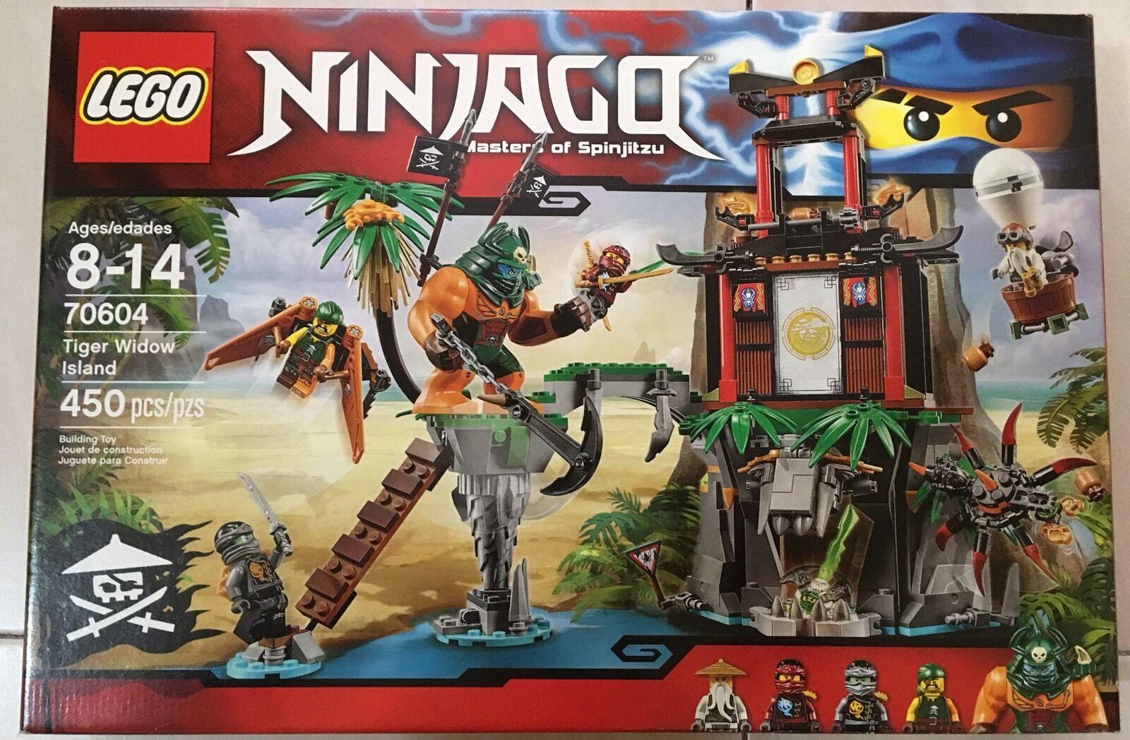 Lego Ninjago Skybound 70604 Tiger viuda isla