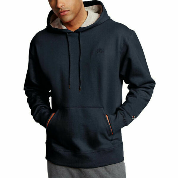 Powerblend Fleece Crew Pullover Black Size XXL New Champion