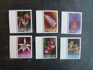1997-DOMINICA-ORCHIDS-SET-6-MINT-STAMPS-MNH