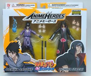 SDCC 2020 Naruto Shippuden ITACHI /& SASUKE UCHIHA EE Exclusive Bandai *IN STOCK