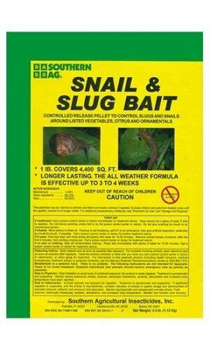 Southern Ag Cocheacol y babosa Cebo molusquicida - 40 lbs.