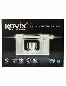 Kovix Alarmed Trailer Lock KTR-18 Tow Ball Hitch Alarm for Caravan, Camper, Bike