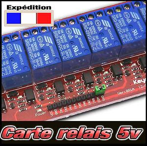 Carte-relais-5v-pour-Arduino-PIC-ARM-AVR-DSP-de-1-2-4-8-relais-au-choix