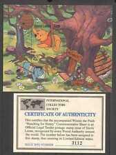 Sierra Leone 1985 Disney/Winnie the Pooh/BEE m/s b4478c