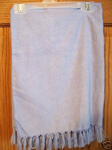 Women/'s Lilac Swim Suit Cover Wrap Tie Sarong 64X42 NW