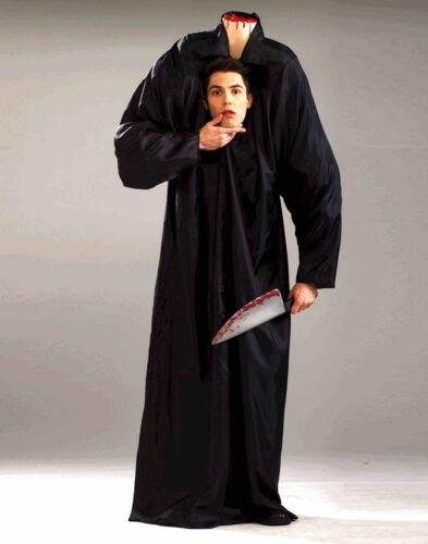 Adult Headless Man Scary Robe Mens Halloween Costume Std