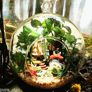 Details About Diy Handcraft Miniature Project Kit Dolls House Lights Totoro S Forest Cottage