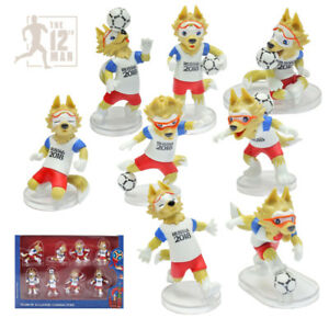 Details about Set 8 Action figures Zabivaka World Cup FIFA 2018 football  soccer Mascot toy