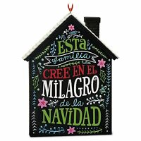 El Milagro De La Navidad 2016 Hallmark Ornament Family Christmas House Mexico