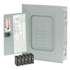 Electrical Panel Eaton 24-Circuit 12-Space 125-Amp Main Lug Load Center Indoor