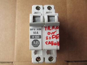 Cb2 Free Shipping >> Allen Bradley 1492 Cb2 H100 Circuit Breaker 2p 10a 480v Vgc Free