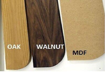 New!! Walnut, MDF & Oak Wooden shelves *custom sizes available*
