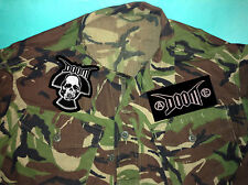 Doom Crust Punk Radiation Skull Anarchy Equality Camouflage Army Shirt Jacket
