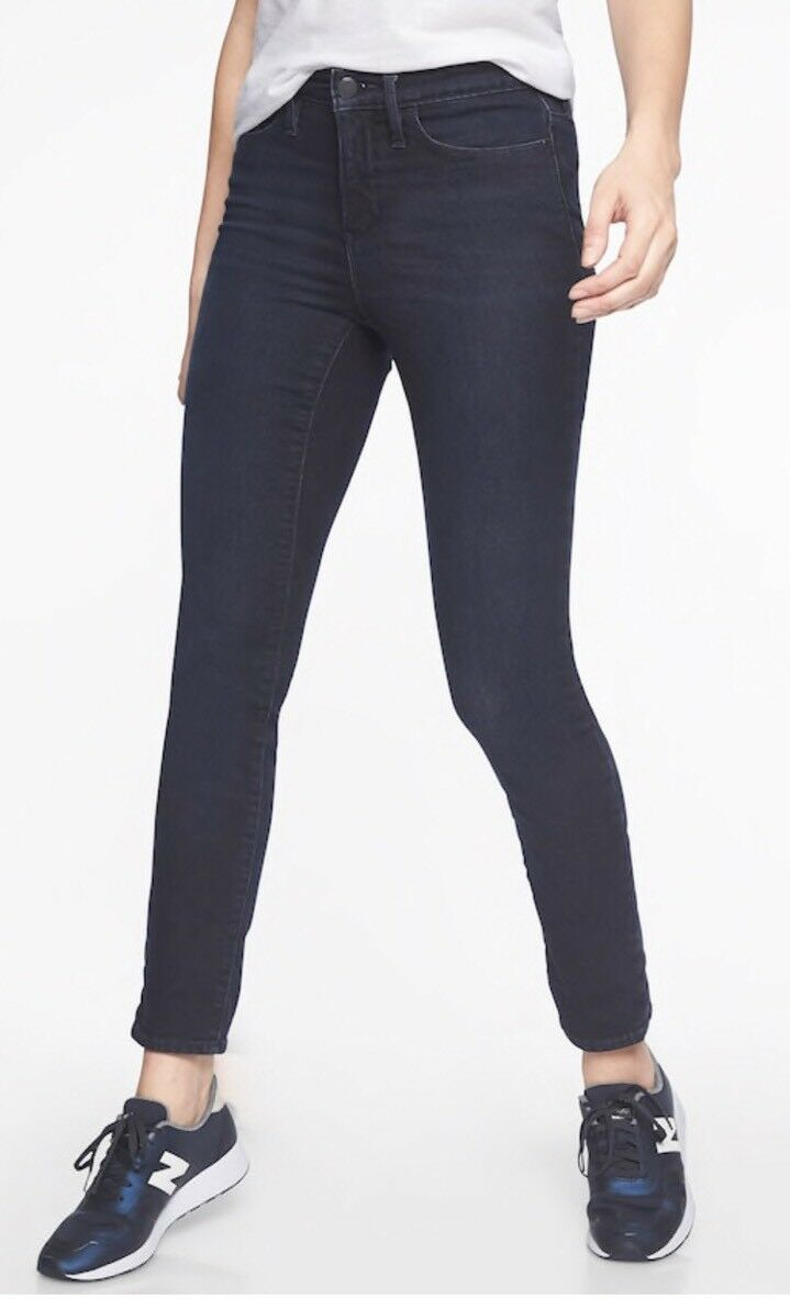 ATHLETA Sculptek Skinny Jean- Overdye Wash  NEW  118 Sz 8