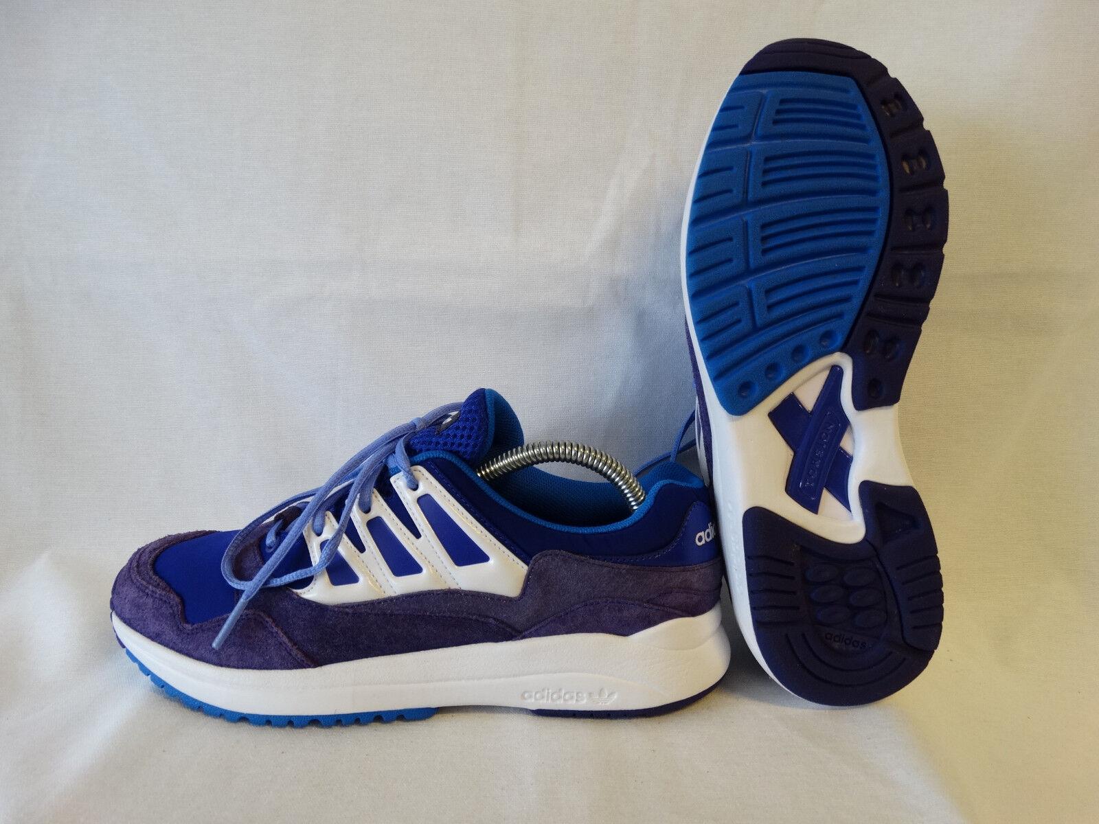 Adidas Torsion Allegra Damänner Laufschuhe G95701 lila-weiß-blau EU 38 2 3 UK 5,5