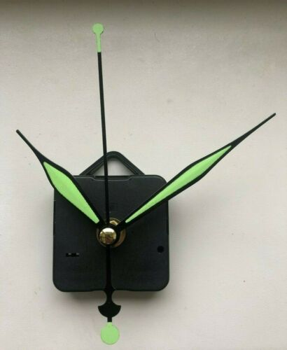 Mechanism UK NEW Art Deco Style Green Clock Movement Quartz Sweeping Hands