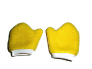 Bright-Yellow-Mittens-Fits-American-Girl-Dolls-18-034-Doll-Clothes