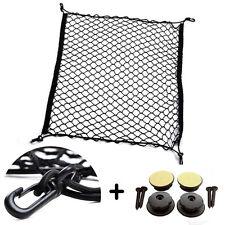 Universal Car Trunk Nylon Elastic Mesh Storage Cargo Net 70*70cm+ Hooks&Holders
