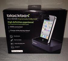 BlackBox Digital AV Dock via HDMI for Apple iPod iPhone iPad MLG-6025DK